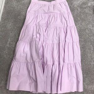 J.Crew Lavender Peasant Skirt